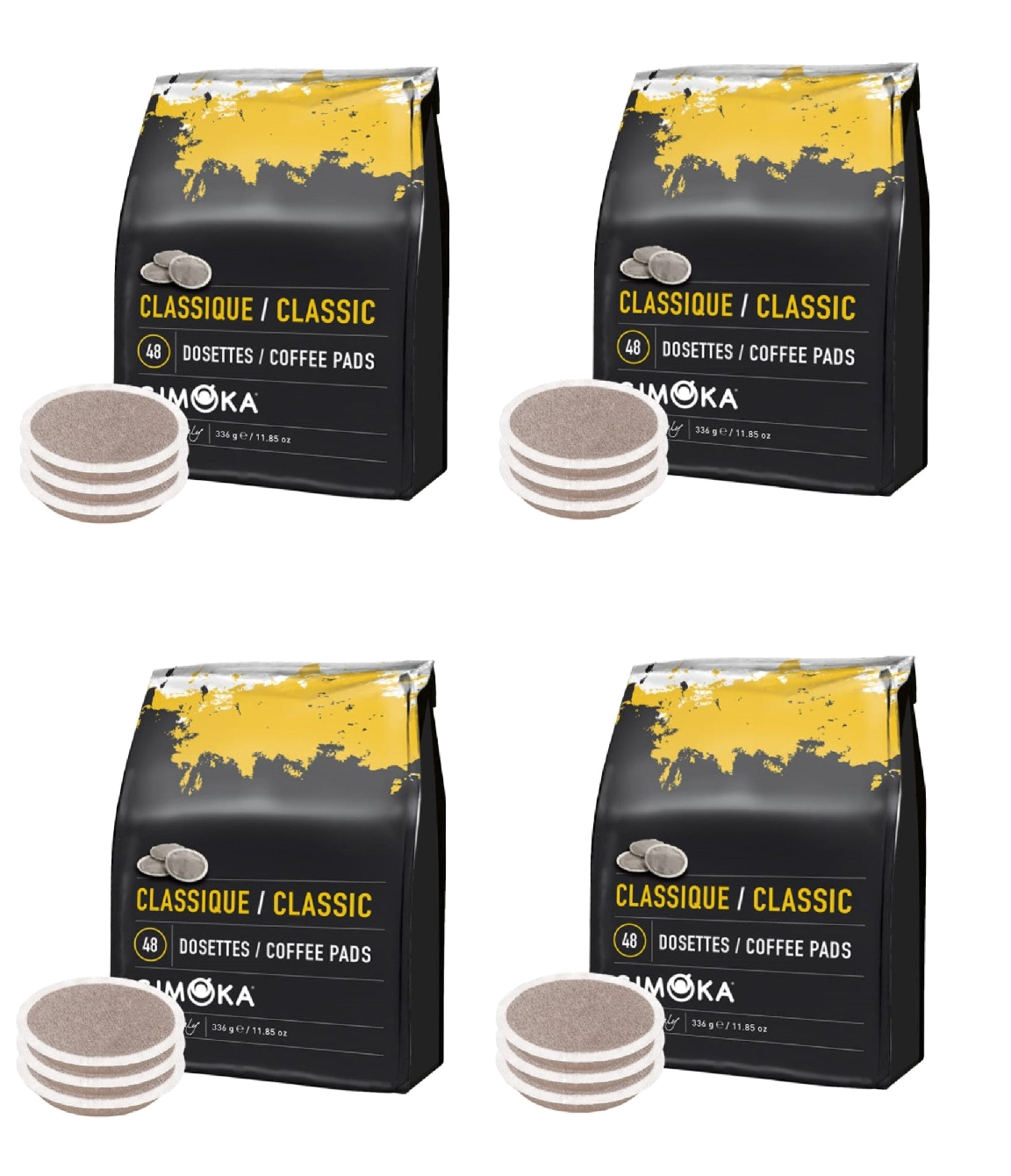 4 x 48 Gimoka Classic - Coffee Pads for Philips Senseo®