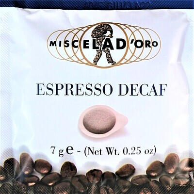 ESE Pods Decaff - Miscela D'Oro - Sicily 50