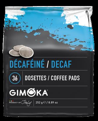 2 x 36 Gimoka Decaff - Coffee Pads for Philips Senseo®