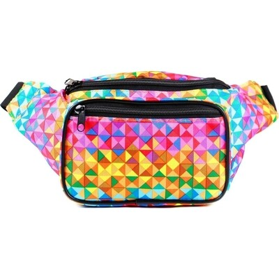 RB RAVE TRIANGLES FANNY PACK