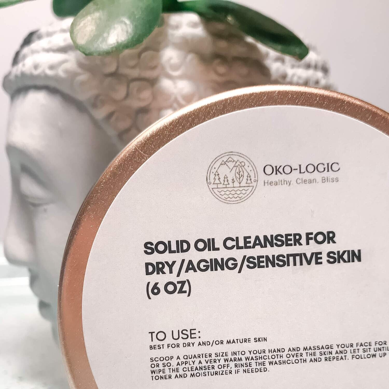 SOLID OIL CLEANSING BALM