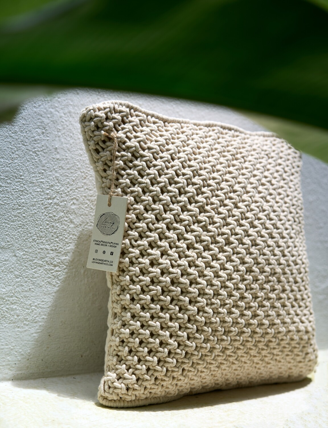 The Knot Cushion Cover
