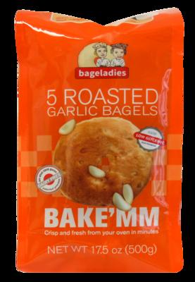 Roasted Garlic [15 Bagels]