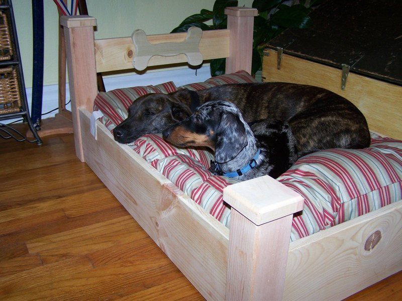 Four Post Dog Bed