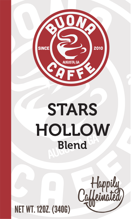 Stars Hollow Blend 12 oz. (Bright, Bold, and Slightly Nutty)