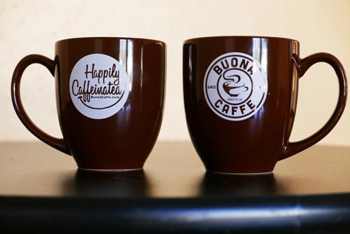 Happily Caffeinated Logo Mug 16oz