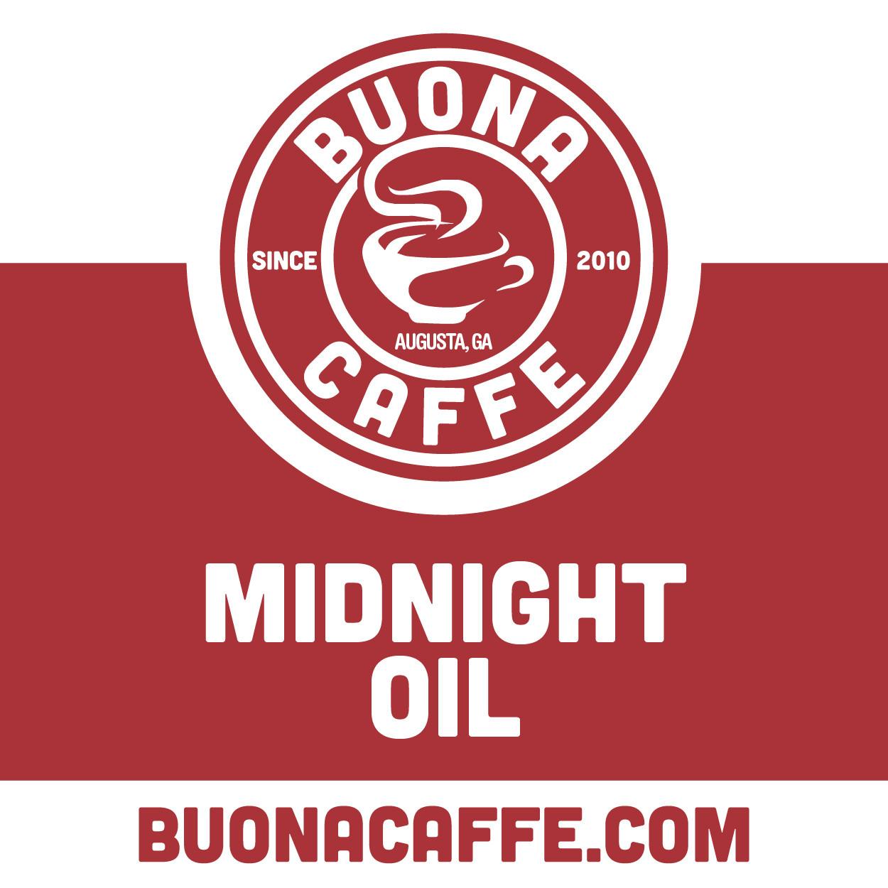 Midnight Oil 12 oz. (Med. & Dark Roast Blend)