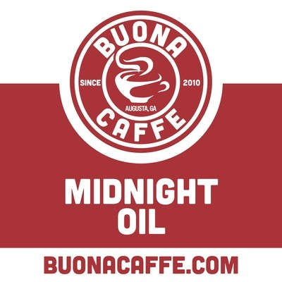 Midnight Oil 12 oz. (Med. & Dark Roast Blend)