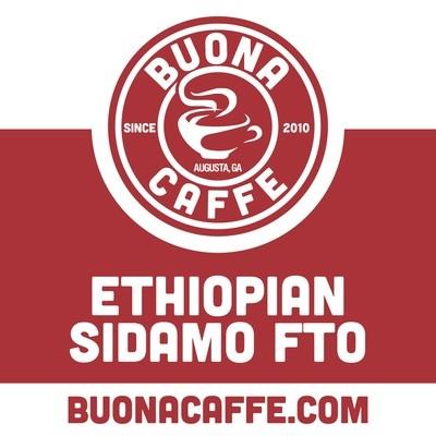 Ethiopian Sidamo FTO 12 oz. (Dark Roast)
