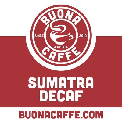 Sumatra Decaf 12 oz. (Dark Roast)