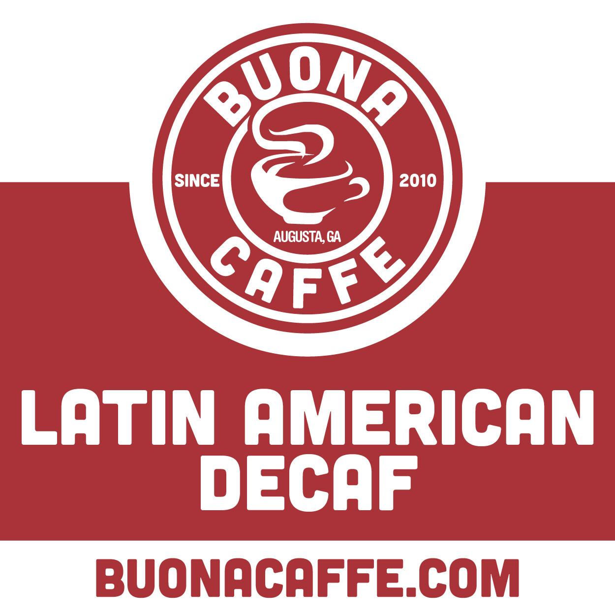 Latin American Decaf 12 oz. (Medium Roast)