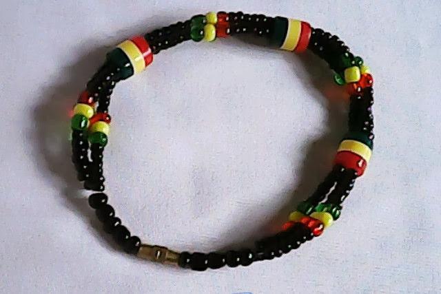 Multicolor Masai/Maasai open bead bracelet bracelet(OB002)