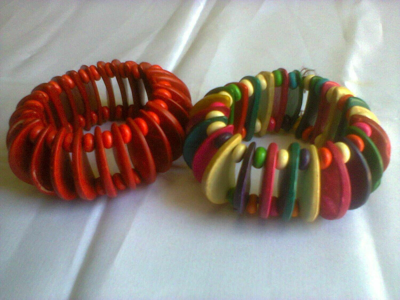 Masai multibeads bracelets banglesKenya)