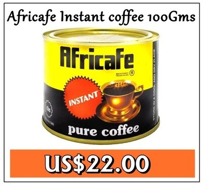 Africafe instant coffee from Tanzania-100GMS
