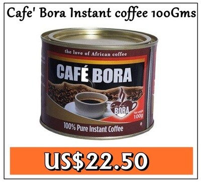 Cafe Bora Instant coffee-100GMS