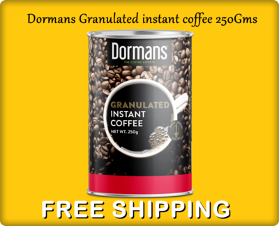 Dormans instant Granulated coffee 250Gms-BUY 1 GET 1 FREE