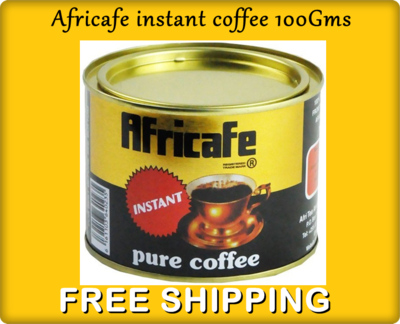 Africafe instant coffee from Tanzania 100Gms-BUY 1 GET 1 FREE