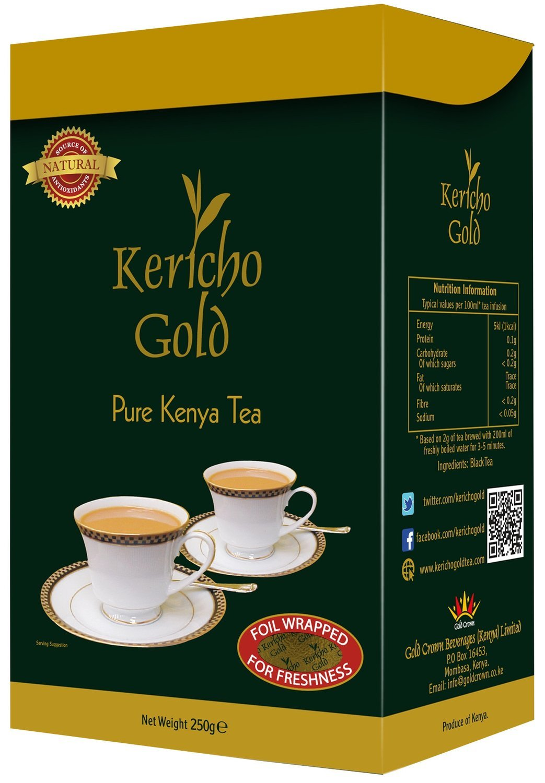 kericho gold tea leaves from Kenya-500GMS