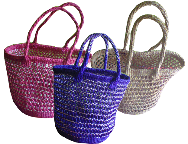 Kenya basket-Tribal Safari sisal basket