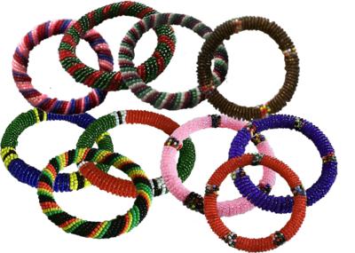 10 pieces Masai beads bracelets-MBB001