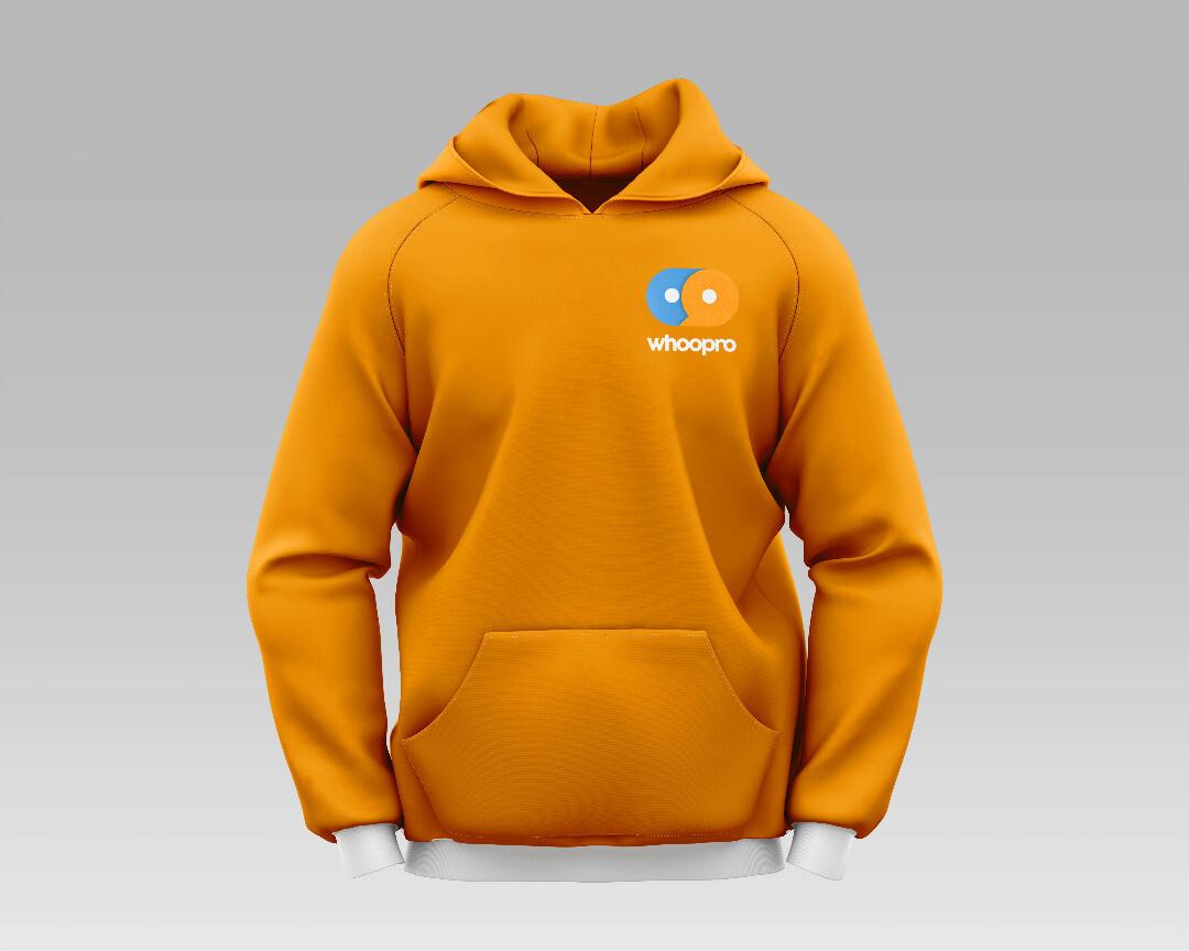 Whoopro Hoodie Orange