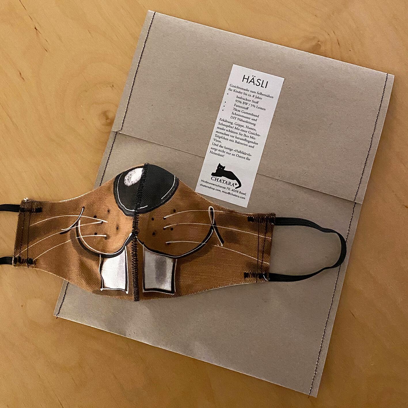 DIY-Kit: HÄSLI-Gesichtsmaske  zum Selbernähen