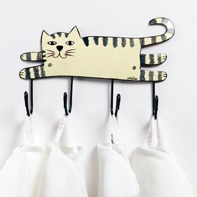 KATZEN-GARDEROBE – PATERE CHAT – CAT HANGERS