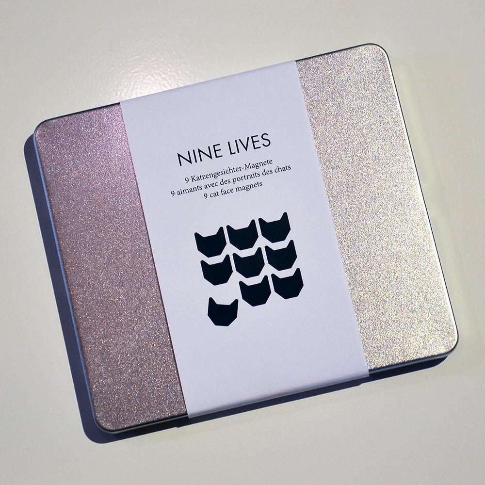 NINE LIVES MAGNETE – AIMANTS – MAGNETS