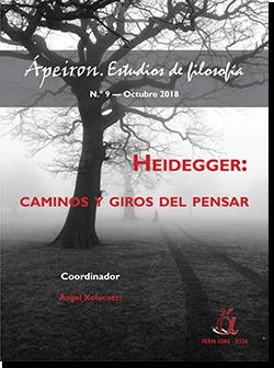 Heidegger:  caminos y giros del pensar (Monográfico)