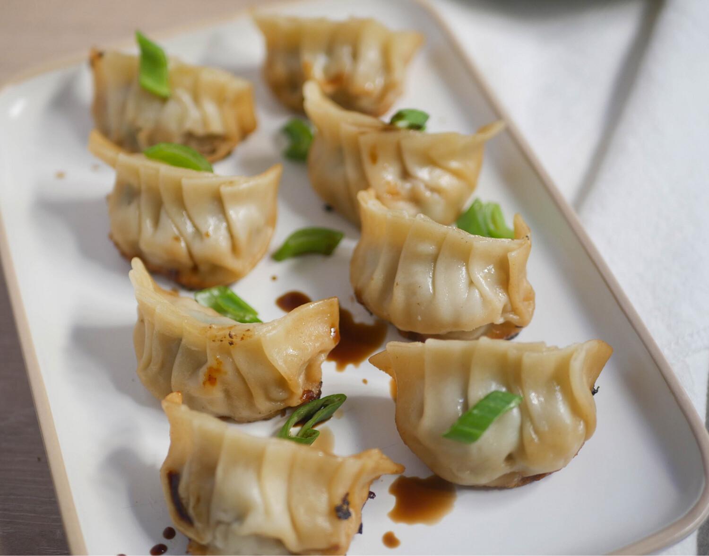 Raviolis chinois grilles