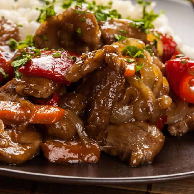 Filet d'agneau aux coriandres Thai