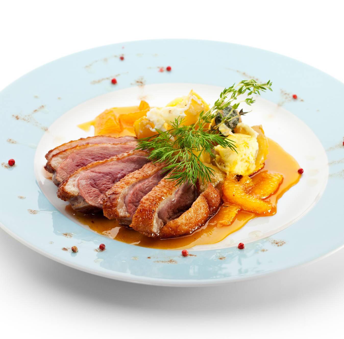 Magret de canard grille a la thaïlandais