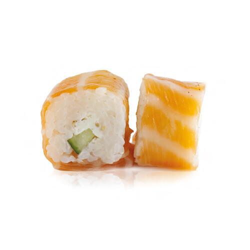 Saumon roll avocat spicy