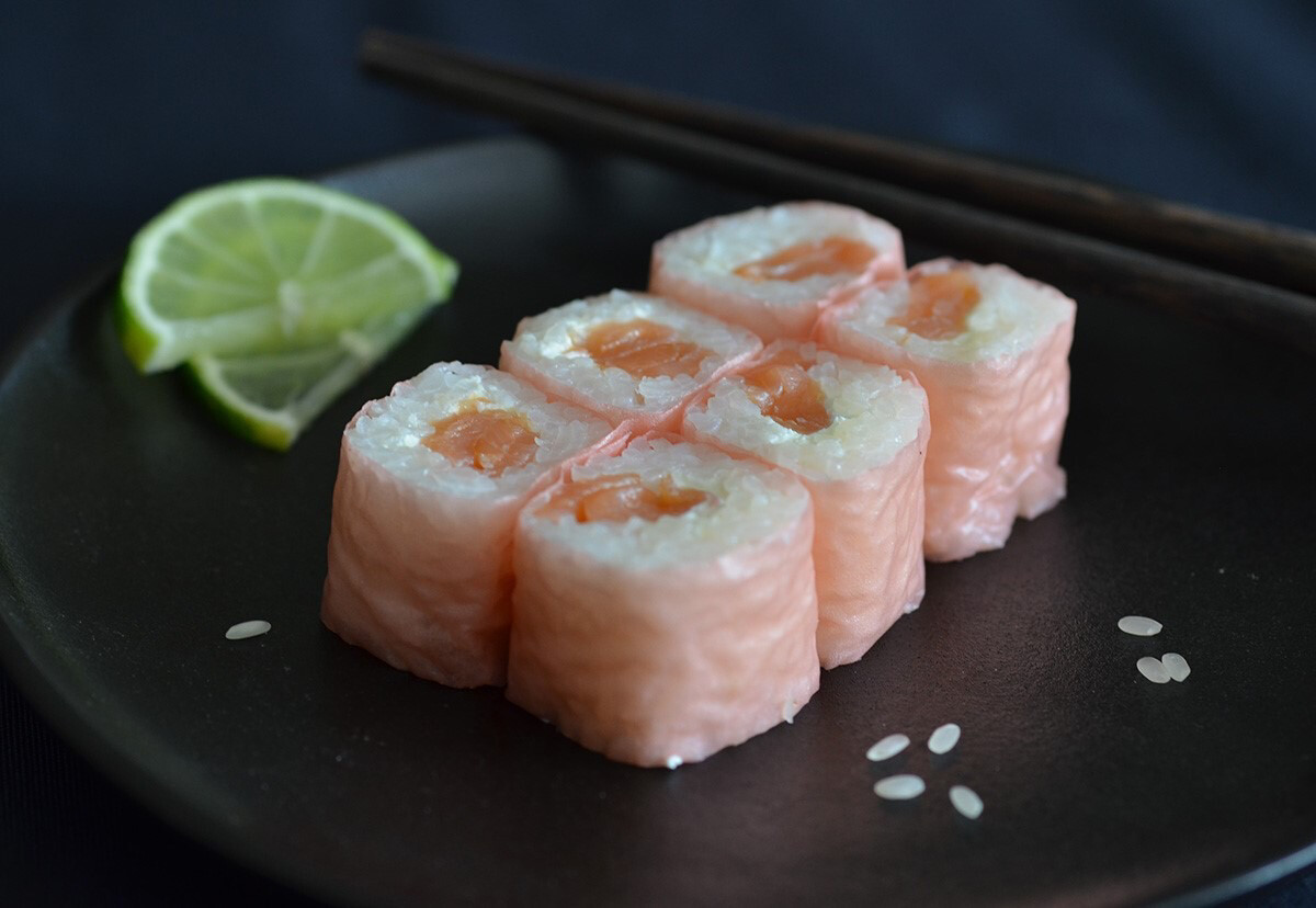 Soya roll saumon cheese