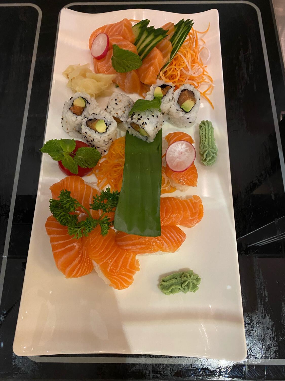 Plateaux 2 saumon 18 pcs