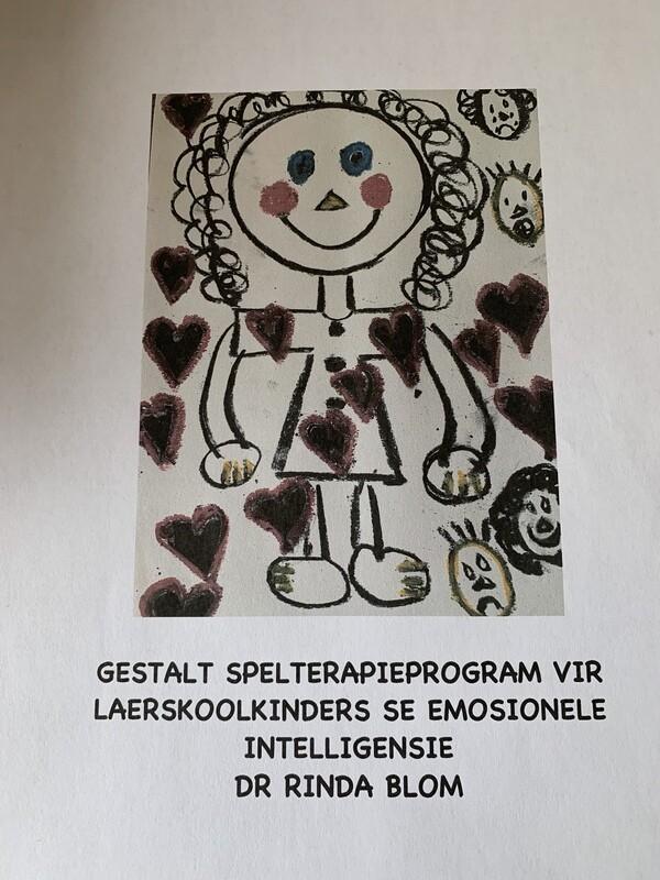 Gestaltspelterapieprogram vir laerskoolkinders se emosionele intelligensie e-boek (Afr)