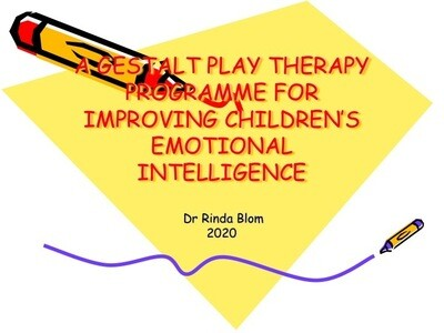 Gestalt play therapy programme to improve primary school children's emotional intelligence