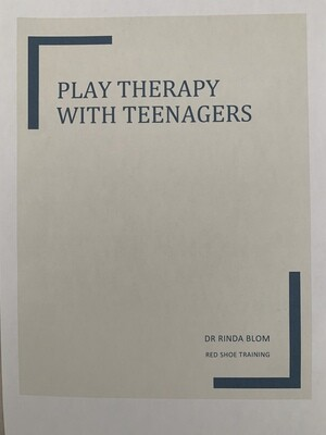 Play therapy activities with teenagers e-book
