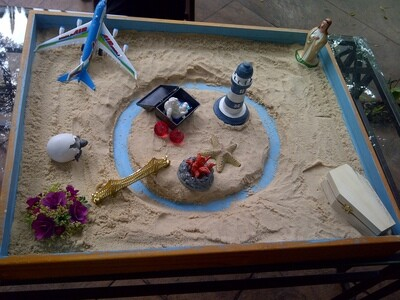 The self-healing archetype in sand tray therapy