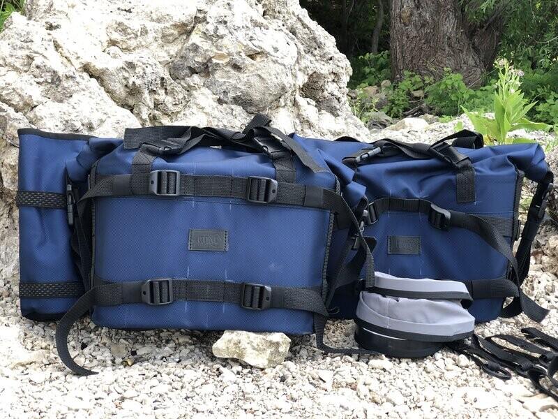 Максимальный комплект Торба XL Enduro + Пластины крепления