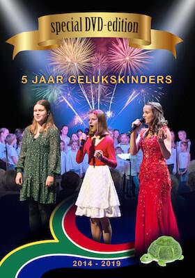 4 DVD set 5 years Gelukskinders - 2 concerts + documentary