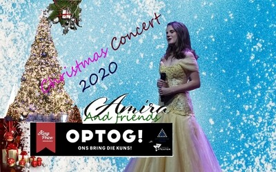 Christmasgift  2020 for Amira. A streaming concert for Gelukskinders