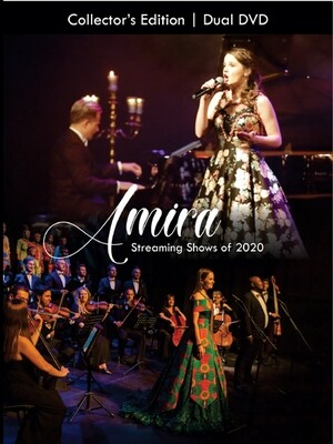 Pre order Amira's streamingconcerts 2020 Dual DVD