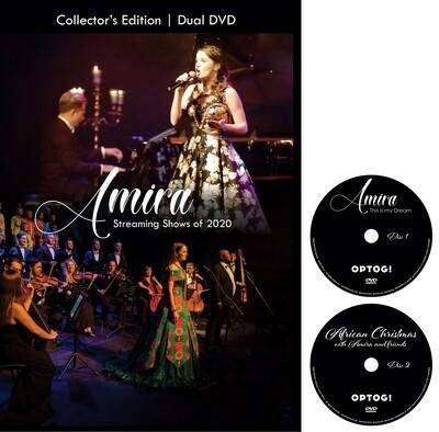 Amira's streamingconcerts 2020 Dual DVD