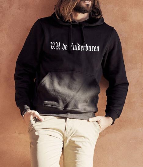 Zuiderburen hoodie zwart