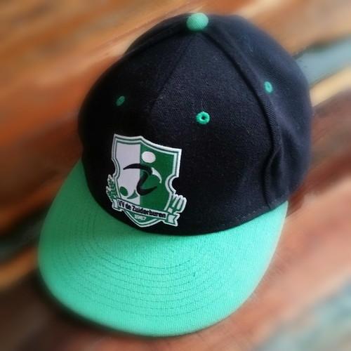 Cap v.v. de Zuiderburen, groen/zwart