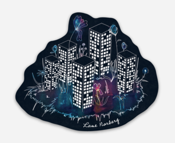 'Coming to Life' Sticker