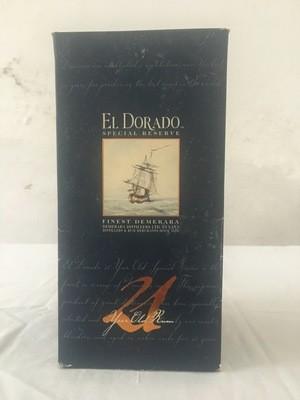 RUM ELDORADO 21 YO