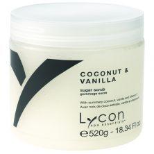 Lycon coconut & vanilla sugar scrub 520gr
