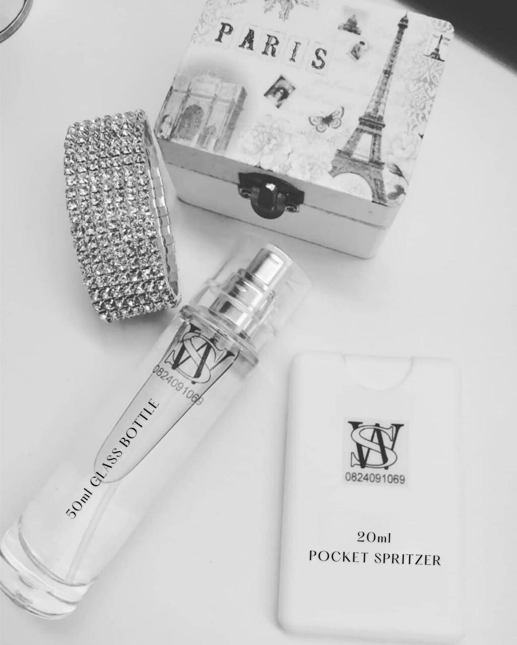 50ml Ladies Perfume Glass Bottle